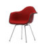Стул из серии Eames Plastic Chair, металл, пластик, дизайнеры Чарлз и Рэй Имз, Vitra.