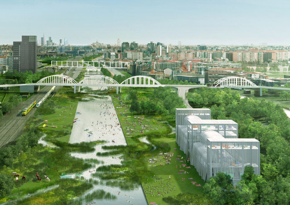OMA office repaired at the park for the brick-and-mortar stations Milana - photo 1