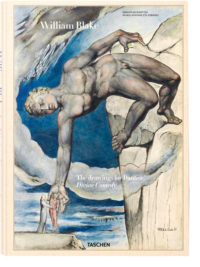 Книга The Drawings for Dante's Divine Comedy by WIlliam Blake, Taschen.