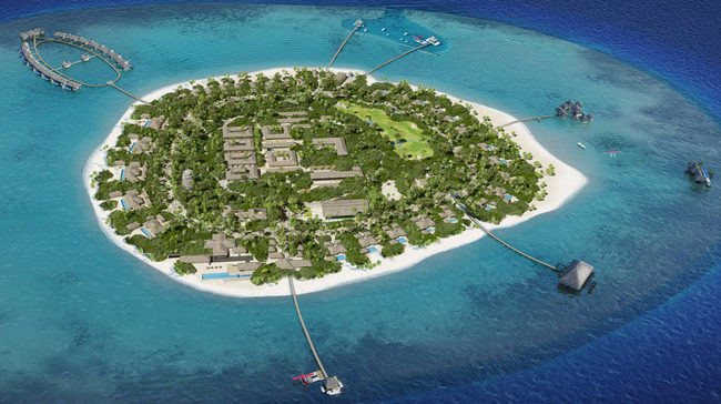 Курорт Velaa Private Island на Мальдивах