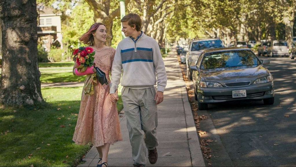 """Shot from the movie """"Lady Bird"""""""
