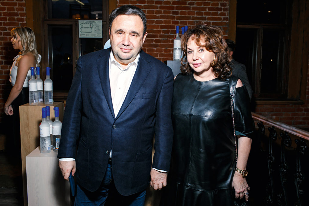 Attorney Alexander Rappoport and his wife Marina