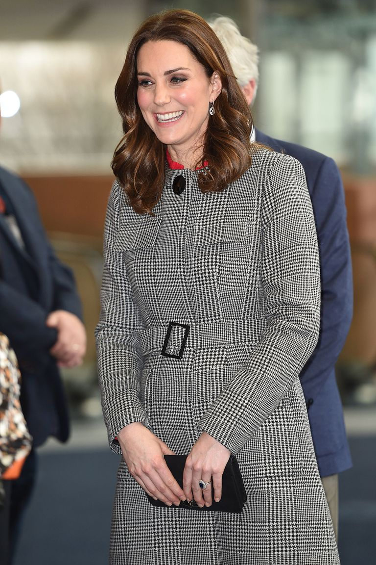 Kate Middleton in LK Bennett's coat, 2017