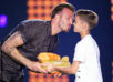 Дэвид Бекхэм на церемонии Kids' Choice Sports Awards - фото 3