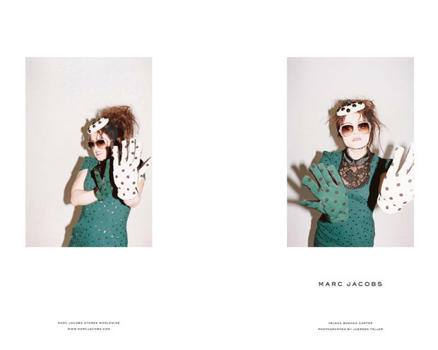 Helena Bonham Carter for Marc Jacobs Fall11 image3.jpg