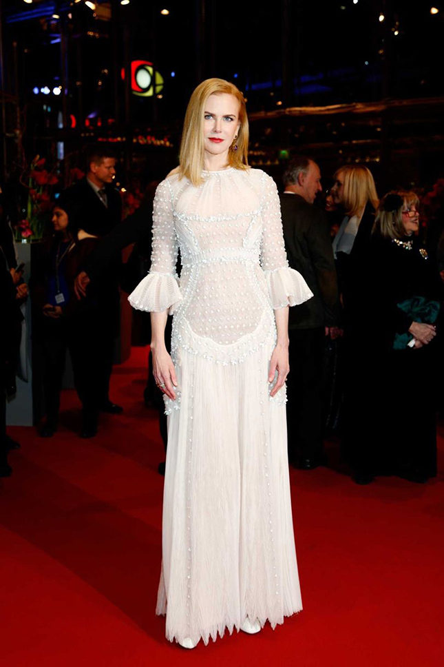Nicole Kidman wearing Valentino for the premiere of