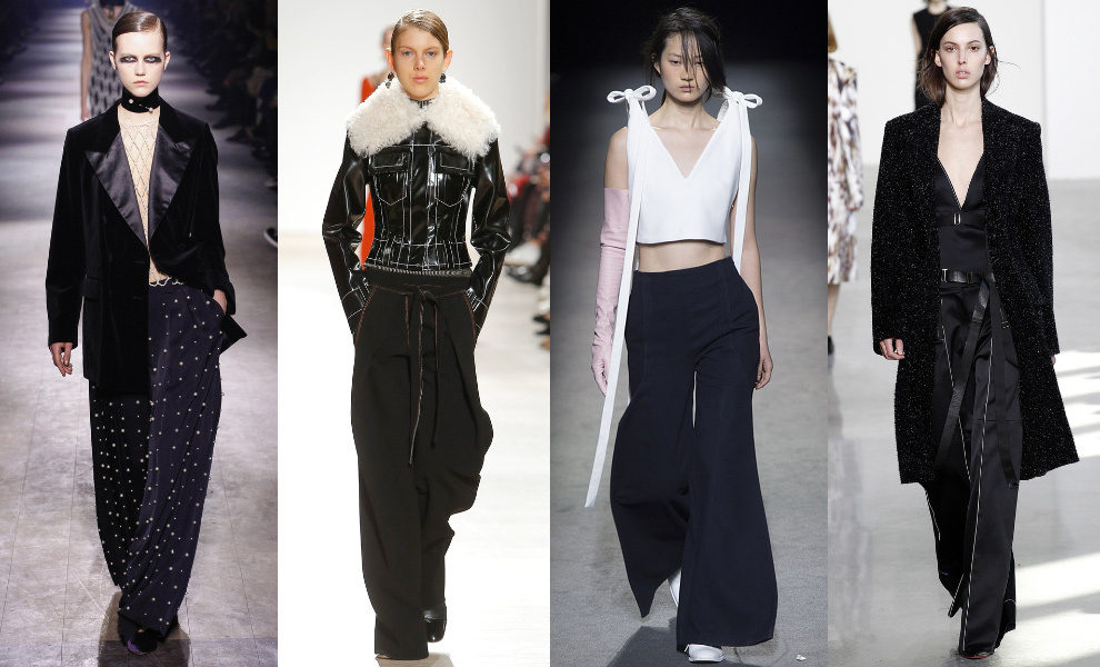 Dries Van Noten, Proenza Schouler, Jacquemus, Calvin Klein Collection