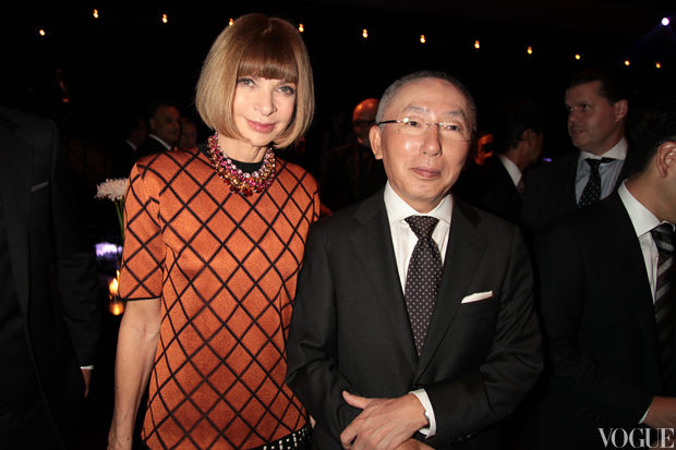 Anna Wintour, Editor of US Vogue and Mr Yanai, Chairman, President and CEO of Fast Retailing.jpg