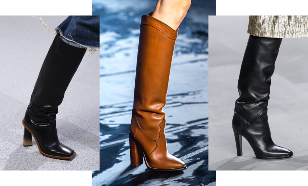 Givenchy, Saint Laurent, Celine весна-лето 2020