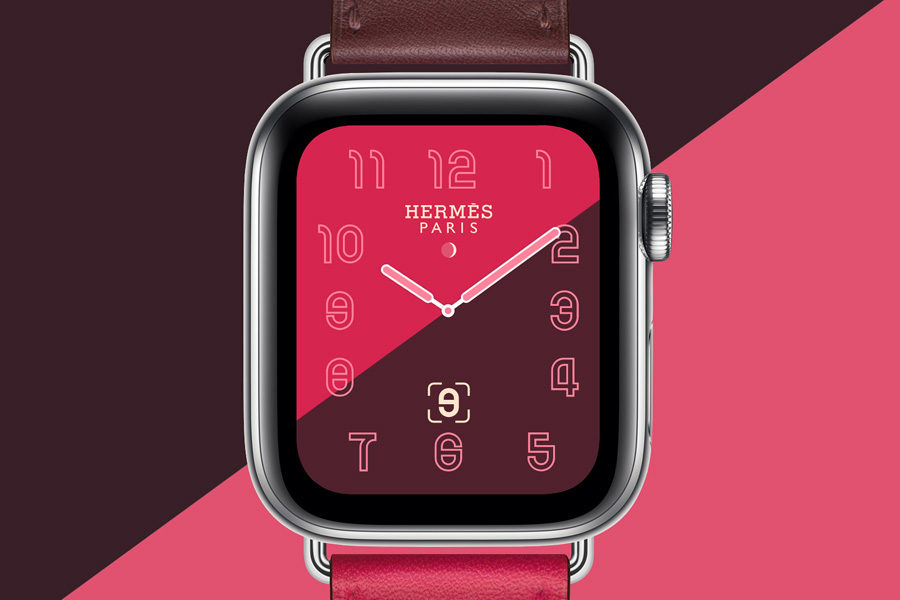 Часы Apple Watch Hermès Series 4