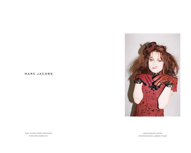 Helena Bonham Carter for Marc Jacobs Fall11 image4.jpg