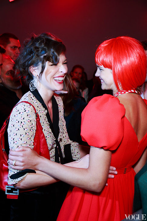Fashion's Night Out 2012: Afterparty в ЦУМе