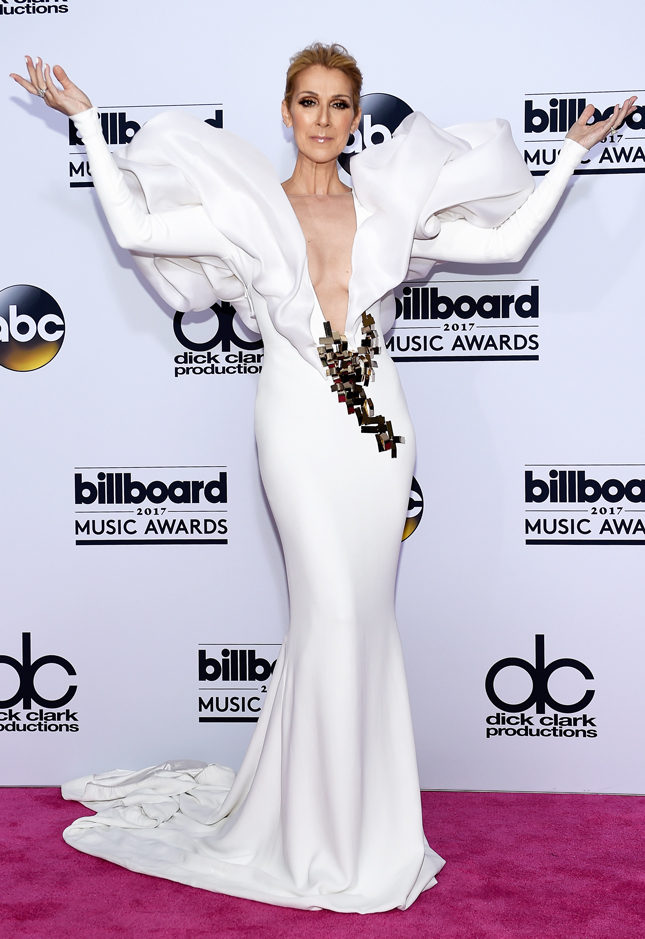 Селин Дион в Stephane Rolland на церемонии Billboard Music Awards 2017