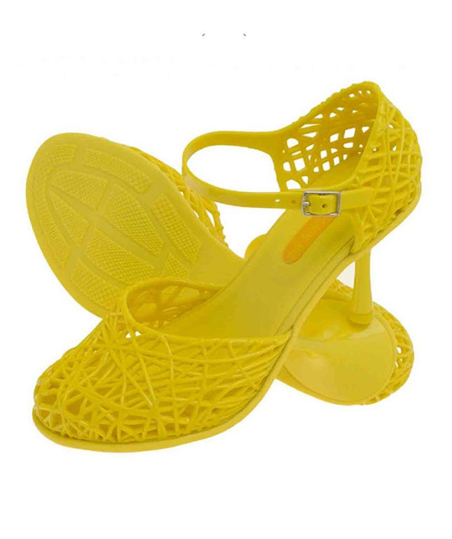 High-heeled anklestrap sandals from the Campana