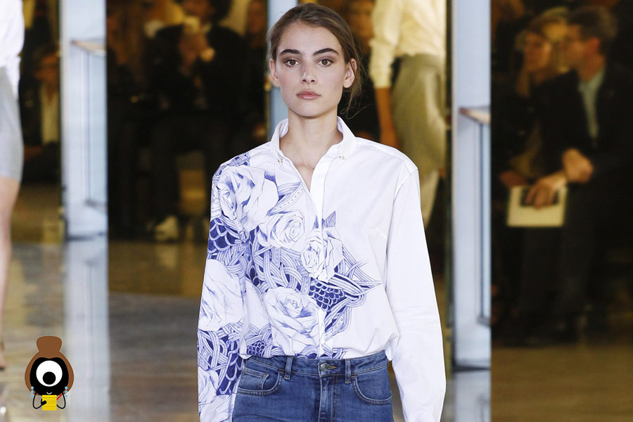#SuzyPFW: Anthony Vaccarello — Denim to the Fore