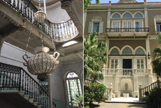 Touring Beirut, Saab's passion for his hometown and nostalgia for its past can be understood. A handful of notable villas from the Ottoman Period remain, such as this near the newly restored Sursock Museum