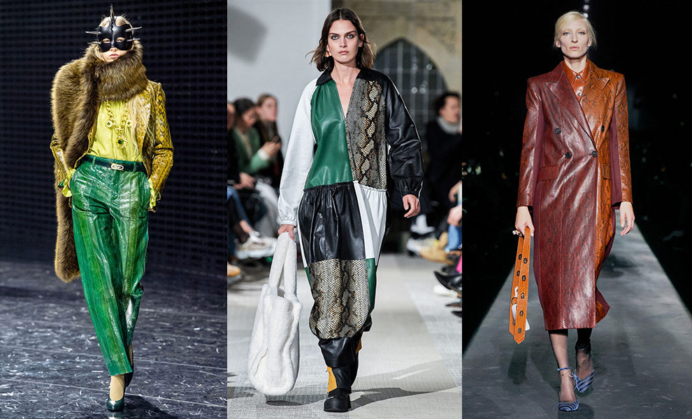 Gucci, Stand, Givenchy осень-зима 2019