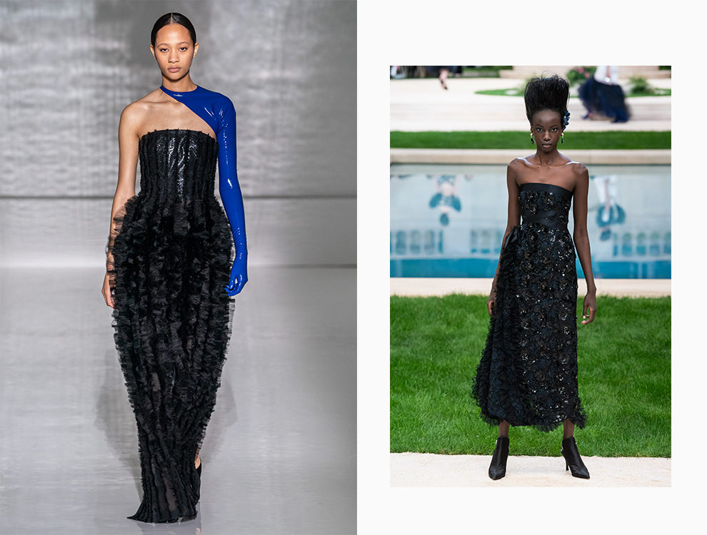 Givenchy, Chanel Couture весна-лето 2019
