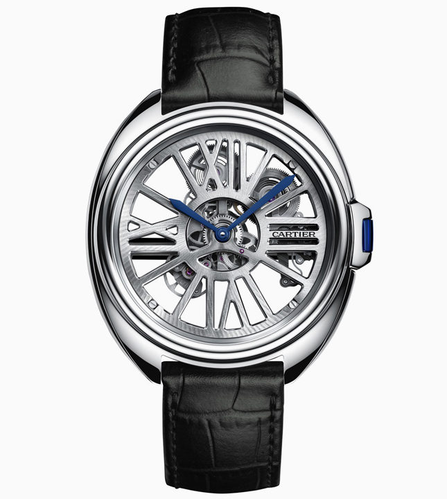 Новые часы Clé de Cartier Skeleton