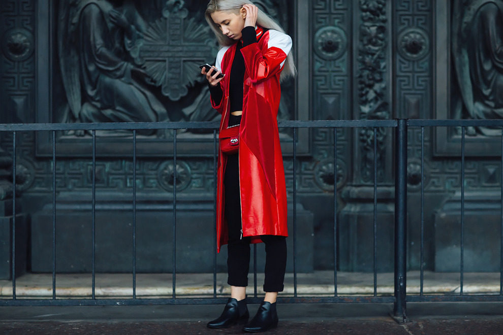 Streetstyle на Mercedes Benz Fashion Week в Санкт-Петербурге