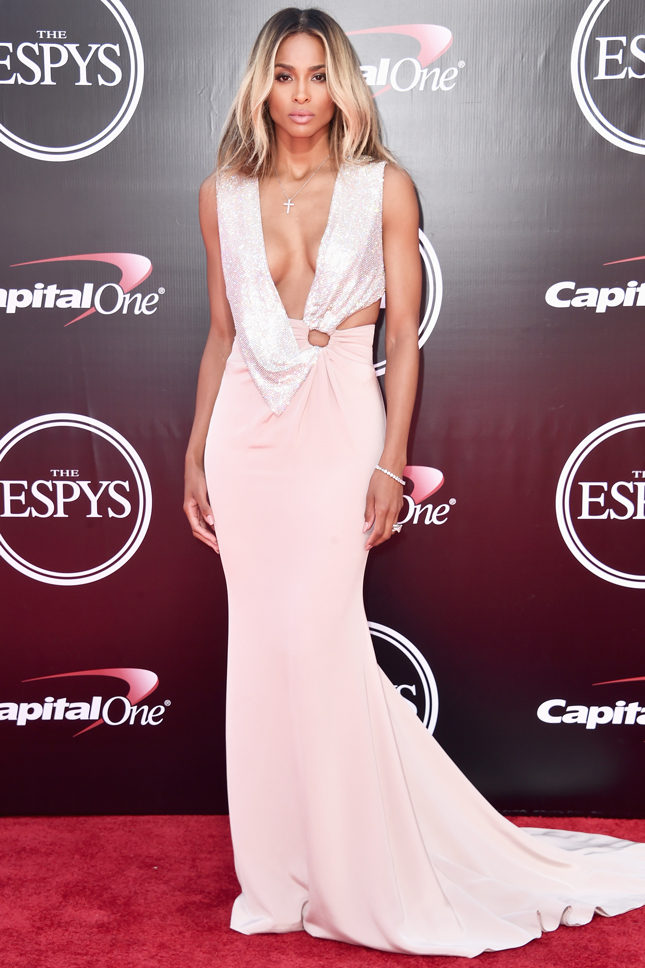 Сиара в Cavalli Couture на церемонии ESPY Awards в Лос-Анджелесе