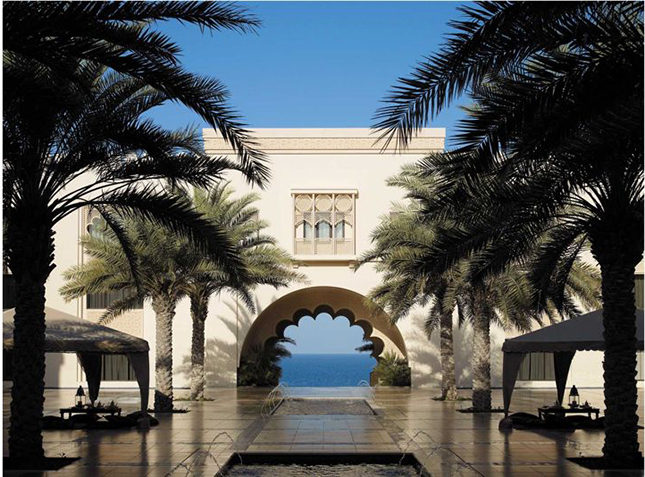 The Al Husn Courtyard at the Shangri-La Muscat