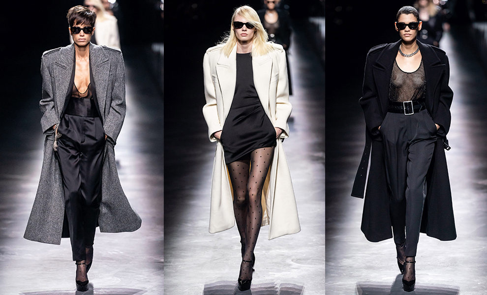 Saint Laurent осень-зима 2019