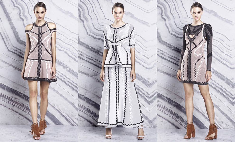 Hervé Léger by Max Azria resort 2016