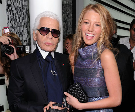 Blake Lively and Karl Lagerfeld_September 2010_Chanel SoHo Opening Party_justjared.buzznet.com.jpg