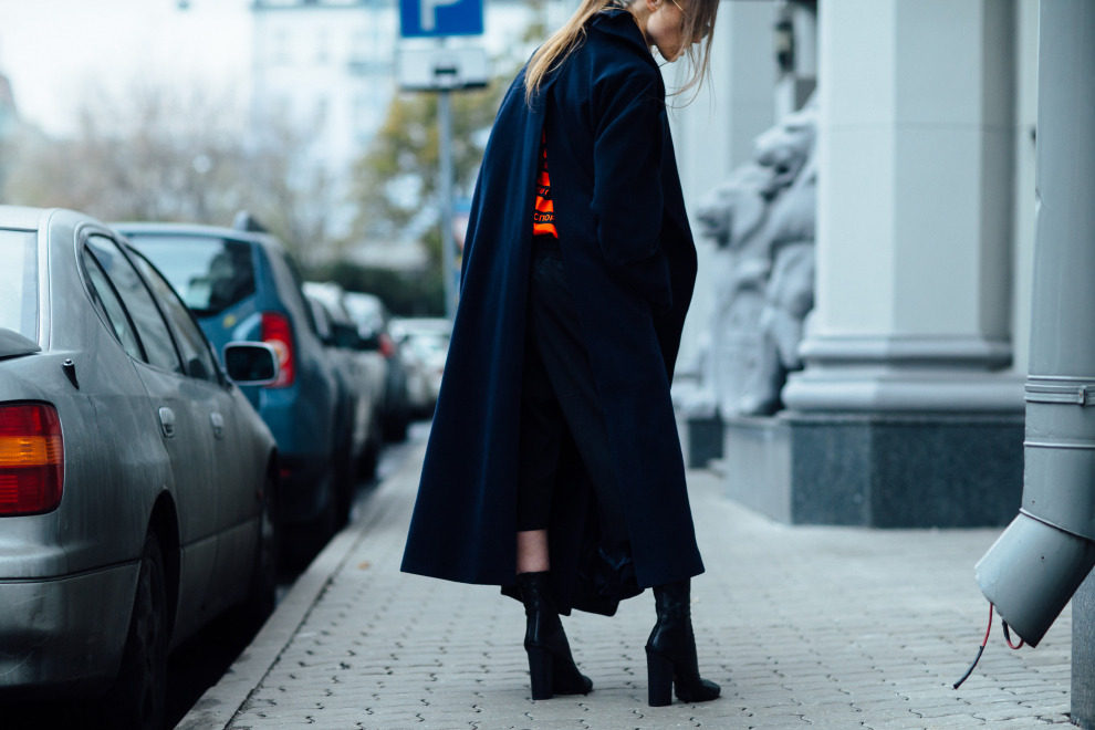 Streetstyle на Mercedes-Benz Fashion Week Russia, часть 2