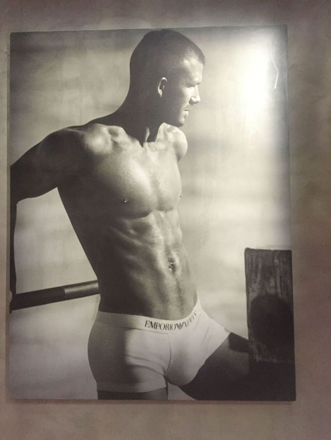 David Beckham shot by Mert and Marcus in 2008