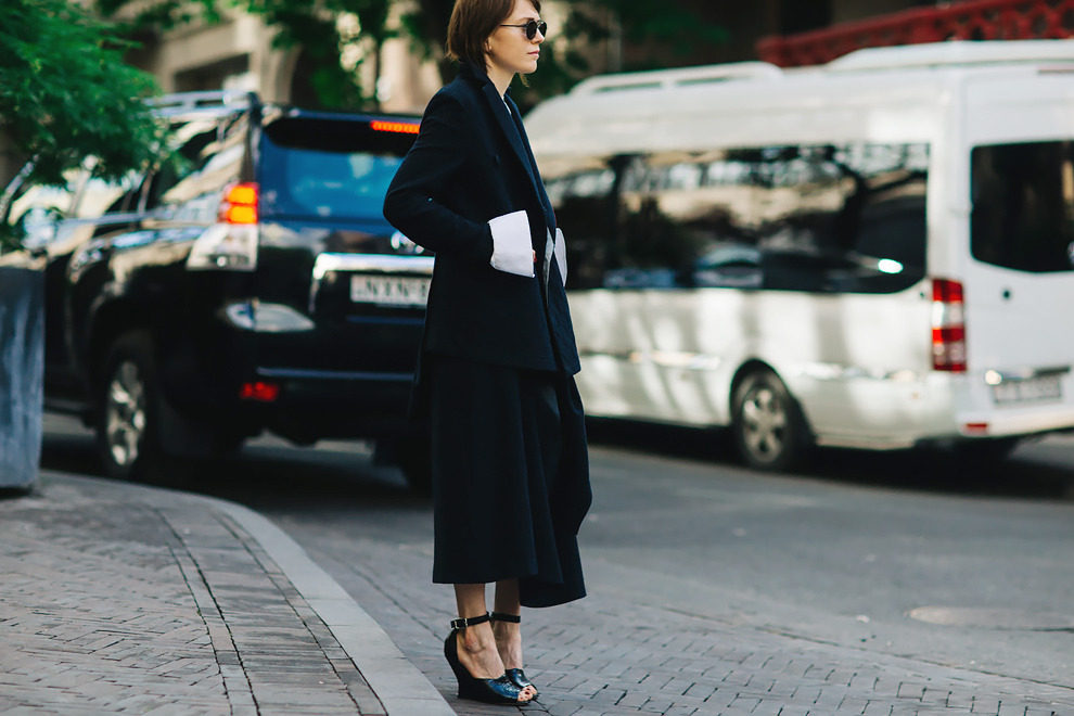 Streetstyle на Mercedes-Benz Fashion Week Tbilisi