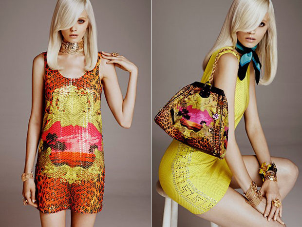 Лукбук: Versace for H&M