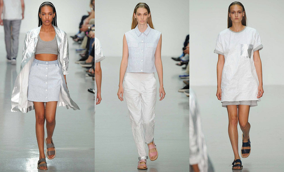 Richard Nicoll menswear весна-лето 2015