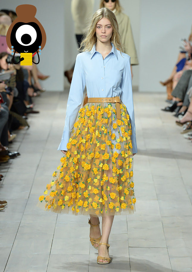 Michael Kors: A sporty take on romanticism | Suzy Menkes | english ...