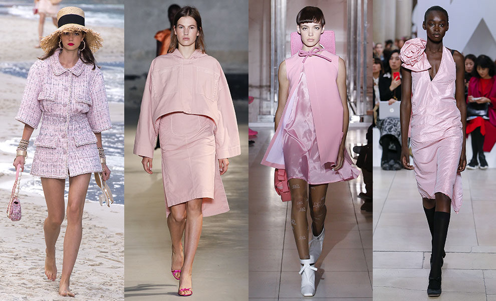 Chanel; No.21; Courrèges; Miu Miu весна-лето 2019