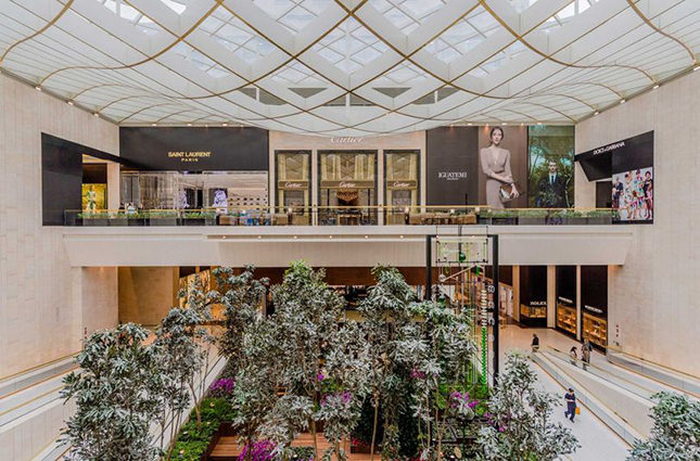 Prime retail real estate for international luxury labels at Iguatemi in São Paolo