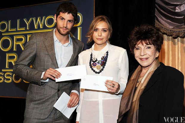 Jim Sturgess, actress Elizabeth Olsen and Aida Takla O'Reilly.jpg