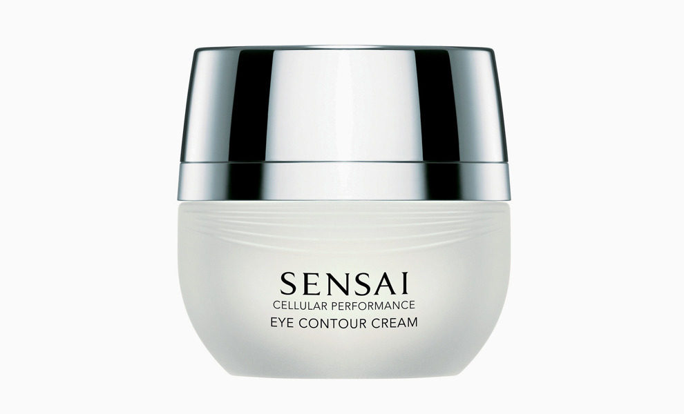 Натуральные шелковые нити — основа Sensai Eye Contour Cream