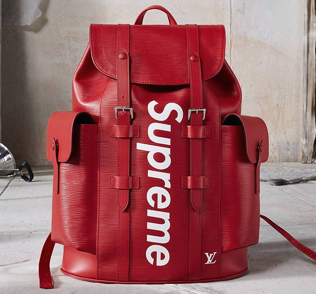 Поп-ап-сторы Louis Vuitton x Supreme
