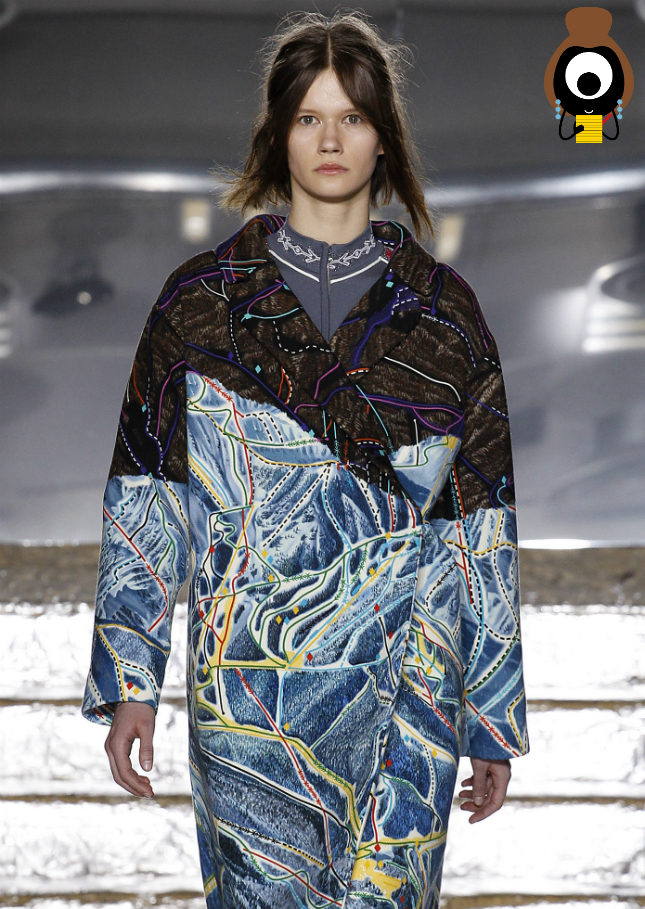 Peter Pilotto's Northern Lights