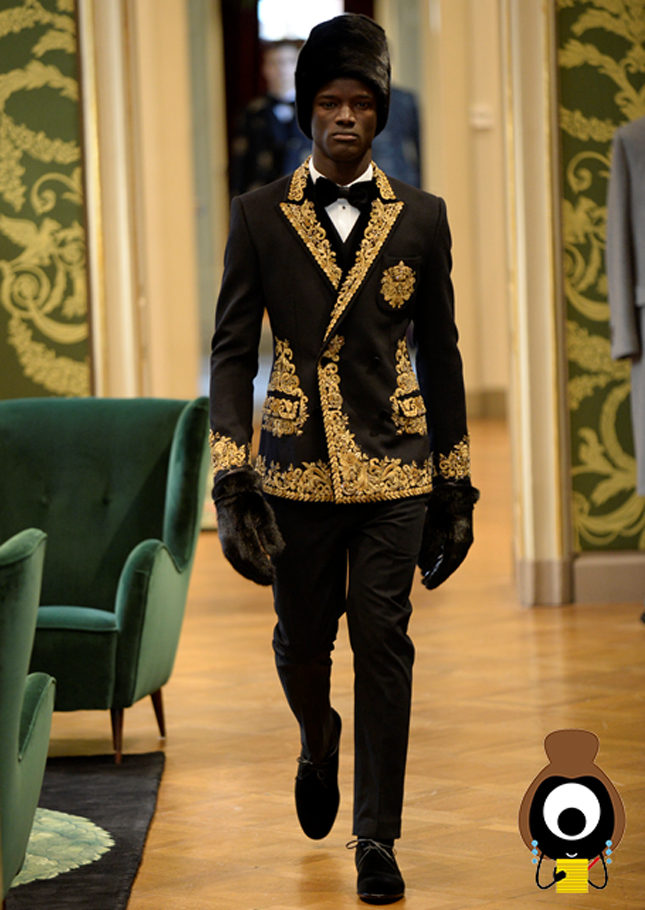 Dolce & Gabbana's male couture is on a high