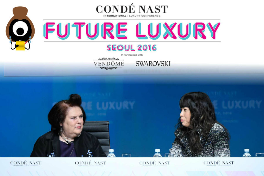 #CNILux Day One: Karl's Secret Weapon | Suzy Menkes | english ...