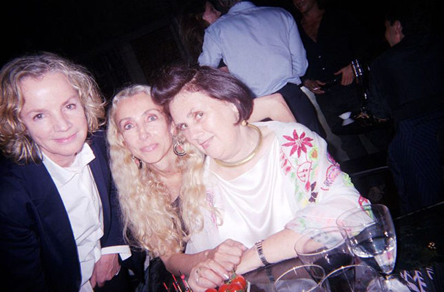 Franca with Jil Sander and Suzy