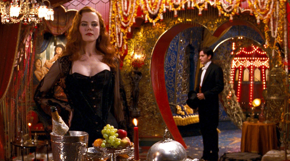 the enchanting love story through music and song in moulin rouge a film by baz luhrmann In anticipation of the stage musical adaptation of moulin rouge, baz luhrmann's lush dreamscape film that infused a 19th-century love story with contemporary pop music, will get a first.
