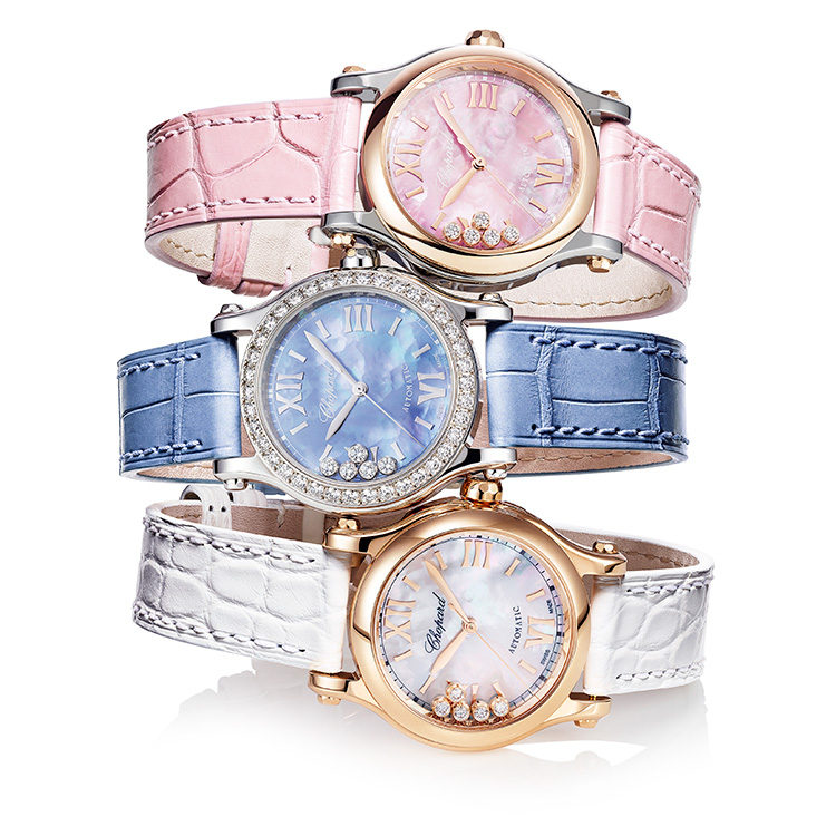 Новинка Chopard: часы Happy Sport Manufacture