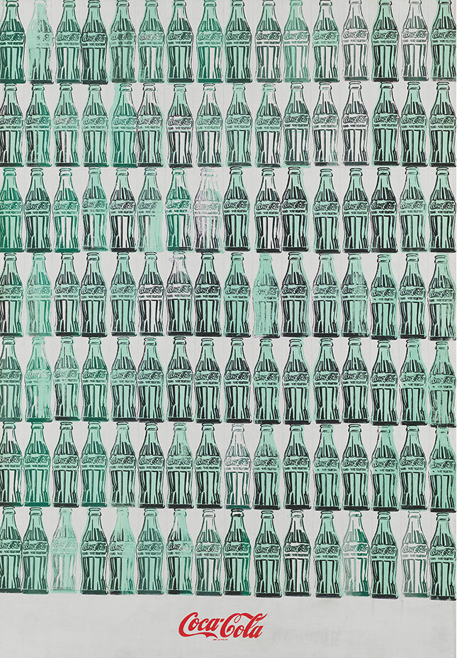 Green Coca-Cola Bottles, 1962, The Andy Warhol Foundation