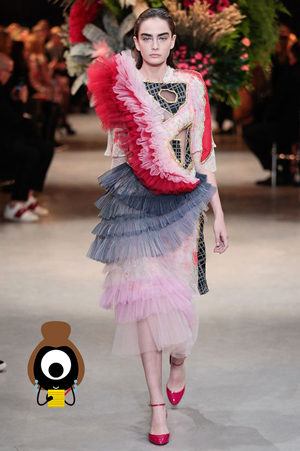 #SuzyCouture Gaultier: Larking About In The Hay