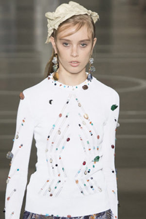 #SuzyLFW Erdem: The Hand Of History