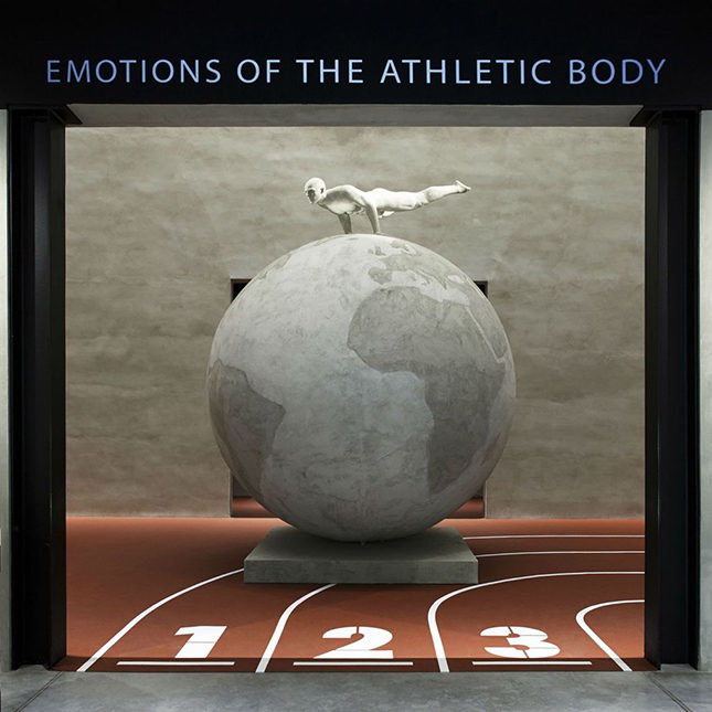 Emotions of the Athletic Body exhibition